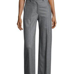 Heather Grey Women's Wide Leg Trousers